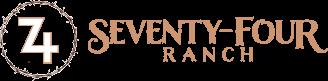 74 Ranch Bed & Breakfast Logo